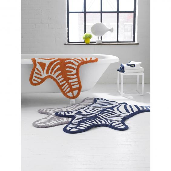 Zebra bathmats available at jonathanadler.com