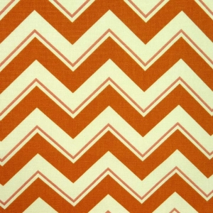 Credit: Full Swing Textiles - Chevrama in Grapefruit