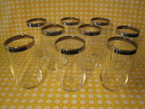 Silver-Banned Cocktail or Juice Glasses again by WestTexasVintage.  Photo Credit: WestTexasVintage