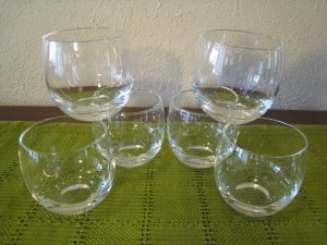 Don't like the silver-band? Check out awesome Etsy seller WestTexasVintage. This set of 7 is only $28!