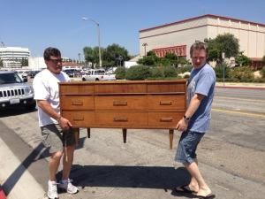 Baby's Credenza...just waiting for some Howard's Beeswax!