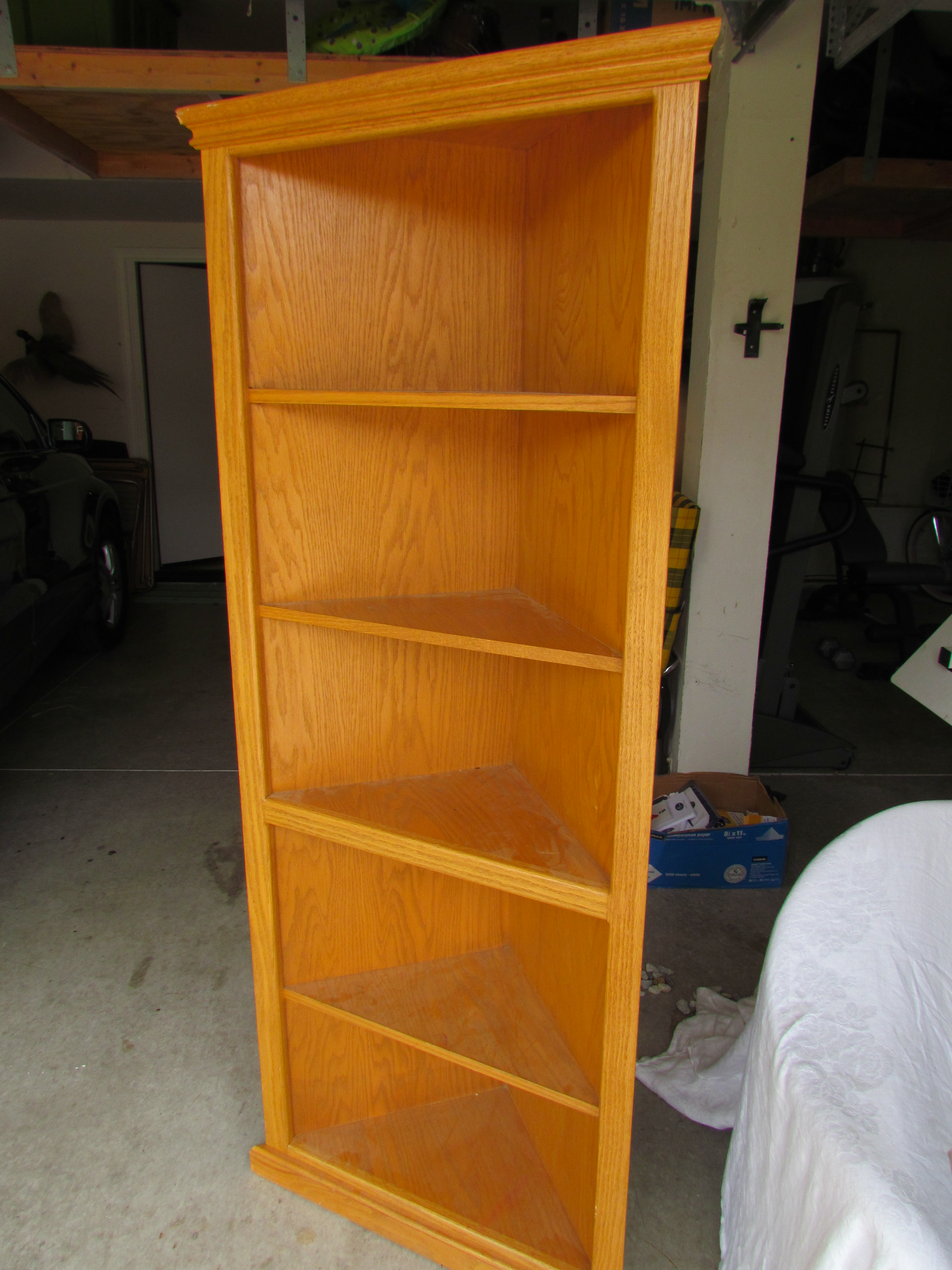 Hokey Oak Bookcase Remake D I Y Midcenturyobsession