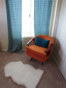 Feeding & Reading Nook - in need of side table and foot stool/ottoman