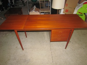 Desk 9 2 Coats of Teak Oil