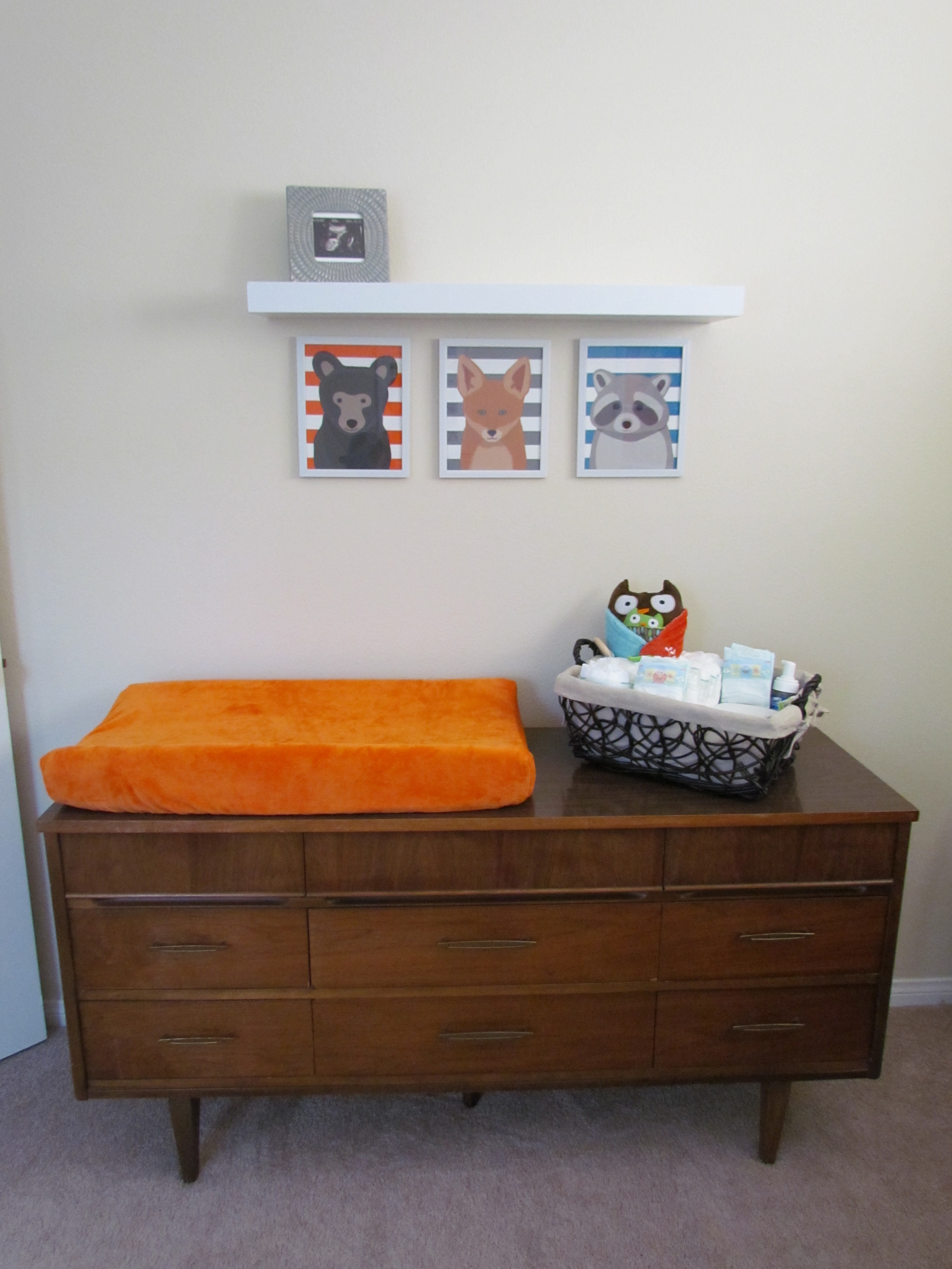Awesome Mid Century Modern Credenza Mid Century Modern Credenza Doubles As Changing  Table