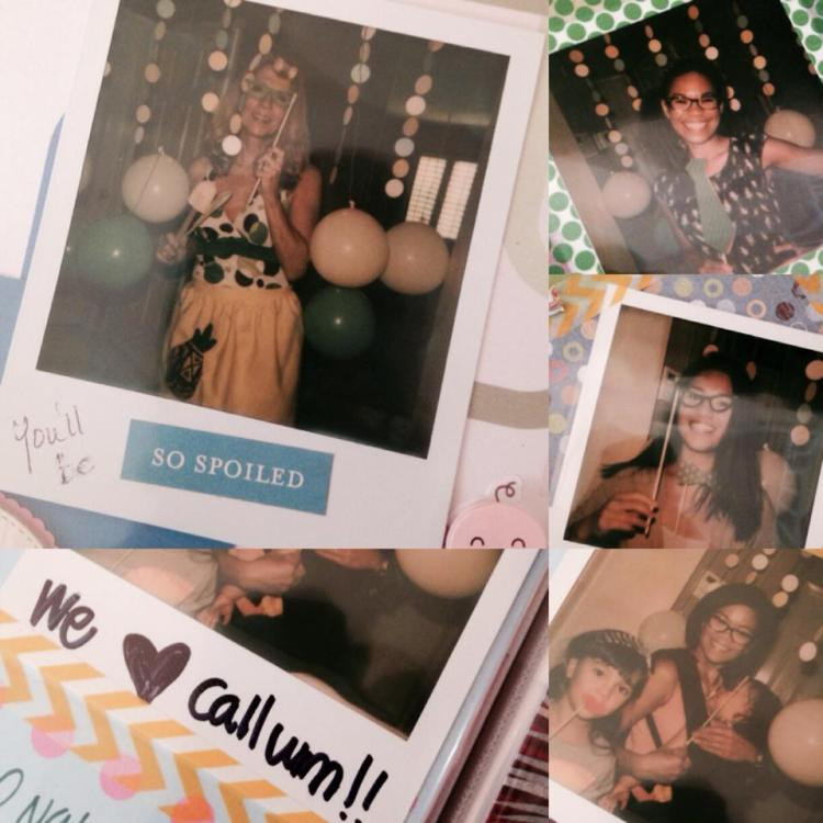 Shower Photo Booth 7.19.14