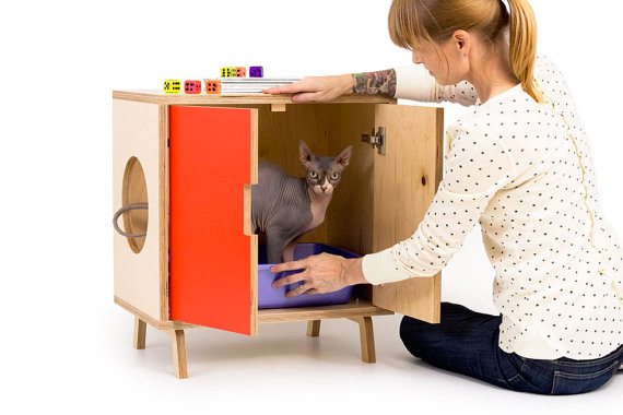 Hey! My cat needs a cute place to do his business. Go here: https://www.etsy.com/listing/191119047/the-mini-cabinet-mid-century-modern-pet?ref=listing-shop-header-3