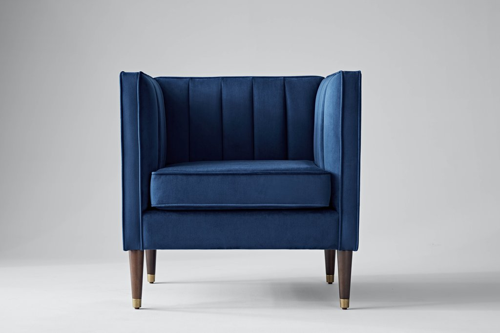 Cobalt Arm Chair